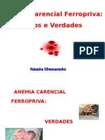 Anemia Ferropriva 2014