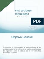 Construcciones Hidráulicas, Diseño de Embalses