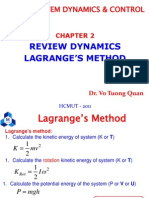 Chapter 2 - Review Dynamics