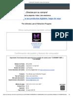 LawofAttraction Confirmacion Del Pedido y Factura Del Comprador