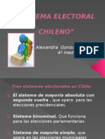 Sistema Electoral chileno