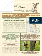 Upland Plover - July-August 2015