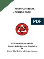 Capa Oratorio Martinista