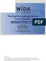 wida can do descriptors grades pk-k