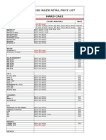Pretty Cases Inside PRice List