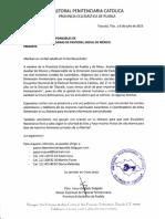 Invitación a Los Sacerdotes Encargados de Las Comisiones Diocesanas de Pastoral Social (1)
