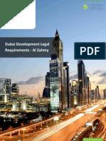 Dubai Development Legal Requirements - Al Zahmy