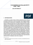 Pensamientos Economicos de William Petty y Aportes Ala Economia