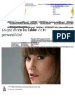 Lo Que Dicen Los Labios de Tu Personalidad _ Salud180