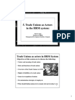 5.Trade Unions in HRM System