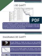 Diagramas de Gant
