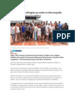 23 Voluntarios Bilingües Ya Están en Barranquilla