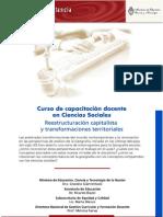 Reestructuracion Capitalista y Transformaciones Territoriales