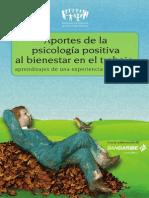 Aportes de La Picología Positiva Al Bienestar en El Trabajo