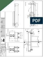 APS-DeTL-007 Gondola Suspension Bracket Front Walll