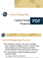 LECTURE1cap Budgeting