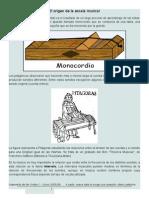 El Origen de La Escala Musical, Cromatismo y Las Frecuencias Acusticas. (1)
