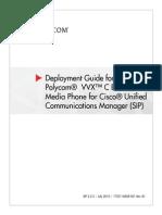 Polycom VVX 1500 C Deployment Guide English