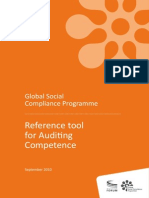 GSCP Ref Tool for Auditing Competence Sept2010 (2)