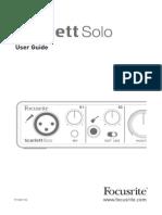 Scarlett Solo User Guidecl6