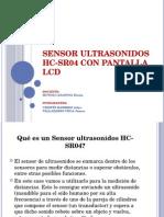 Sensor Ultrasonidos HC-SR04 Con Pantalla LCD