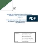 Informe de Trabajo de Vinculacion Laboral Temprana Listo