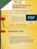 Granulometria y Proctor Estandarr