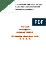 Brosura Admitere Doctorat Site 2015