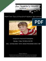 preschool kindergarten handbook pdf