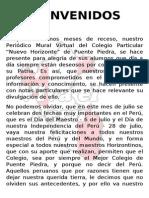 Periódico Mural - Julio