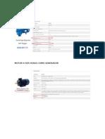 Datos Comerciales - diseño turbina pelton