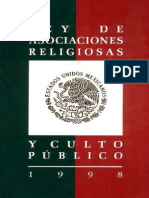Ley Asoc Religiosas