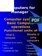 Basics of Computer MBA