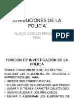 Atribuciones de La Policia