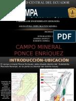 Campo Minero Ponce Enriquez