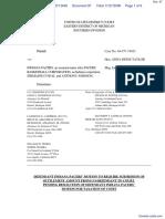 Haddad v. Indiana Pacers et al - Document No. 97