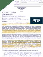 5. Cauton v. Comelec, 19 Scra 911