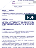 7.Aa Arroyo v. DOJ and Comelec, G.R. No. 199082