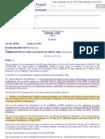 8.Bb Ongsioko Reyes v. Comelec, G.R. No. 207264, 25 June 2013 and 22 October 2013