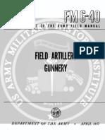 Field Artillery Gunnery
