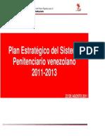 MPPSP (2011) Plan Estratégico Del Sistema Penitenciario Venezolano 2011-2013