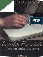 Ignacio de Loyola Escritos Esenciales, Dios en todas las cosas