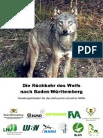 Rueckkehr Des Wolfes - Wolfsmanagementplan Baden-Württemberg