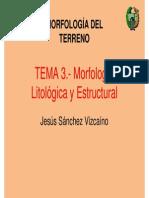 Morfologia Litologica y Estructural
