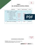 Ambiente de Control Evaluacion de Riesgo Informacion y Comunicacion Actividades y Monitoreo