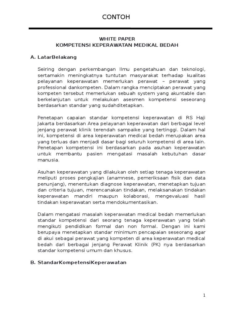 Contoh White Paper Kmb Docx
