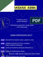Pedoma Penatalaksanaan Asma