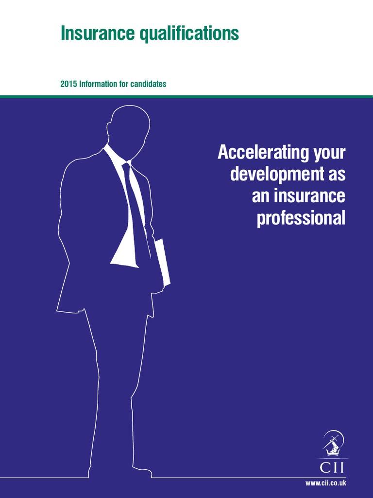 CII Insurance Quals Brochure 11 14