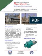 PI-25 Modernizacja Pieca Do Syntezy CS2