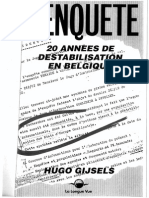 Hugo Gijsels - Coup d'Etat Manqué (1969-1989)